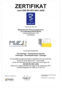 DIN ISO Zertifizierung
